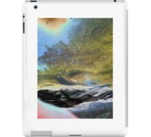 beyond the scarred and barren shores iPad Case/Skin