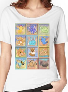 Baby animals Women's Relaxed Fit T-Shirt