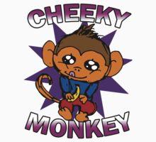 KT Monkey T-Shirt by ktdesigns