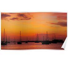 Ibiza Sunset III Poster