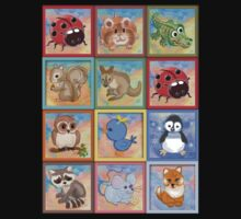 Baby animals 2 Kids Clothes