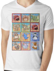 Baby animals 2 Mens V-Neck T-Shirt