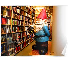 Library Gnome Poster