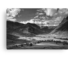 Oxendale & Mickleden 01 - The Lake District, England Canvas Print