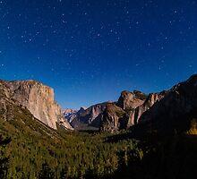 Starlight on El Capitan by Lee Harvey