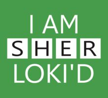 I AM SHERLOKI'D by Donna Keevers Driver