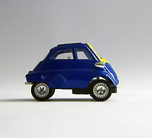 BMW Isetta deep blue by Rasevic