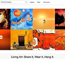 All Things Orange - 15 June 2011 by The RedBubble Homepage