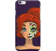 Sugar Skull Series: Russian Princess iPhone Case/Skin