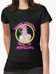 Wilford Warfstache Seal of Approval Womens Fitted T-Shirt