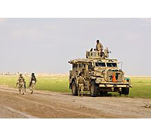 Iraqi security forces Photographic Print