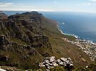 View Over Cape Town from Table Mountain by Magic-Moments