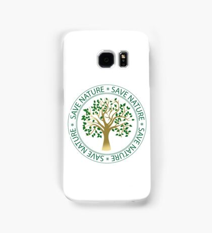Save nature seal Samsung Galaxy Case/Skin