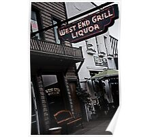 West End Grill Poster