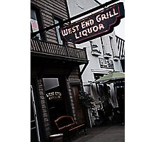 West End Grill Photographic Print