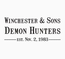 Winchester and Sons est. 1983 by thischarmingfan