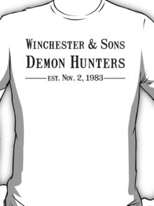 Winchester and Sons est. 1983 T-Shirt