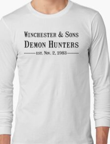 Winchester and Sons est. 1983 Long Sleeve T-Shirt