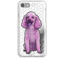 Poodle in Amethyst Mosaic iPhone Case/Skin