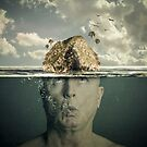 Submerged Man by Randy Turnbow