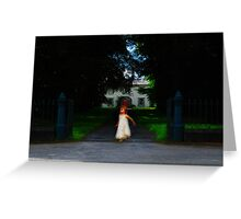 Child of the manor Greeting Card