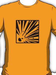Explosive Bordered T-Shirt
