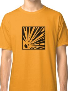 Explosive Bordered Classic T-Shirt