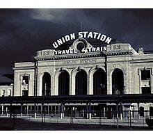 """""""Union Station"""" Denver, CO Photographic Print"""