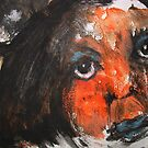 Face, Bernard Lacoque-111 by ArtLacoque