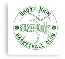 Shoyo High Basketball Club Logo Canvas Print