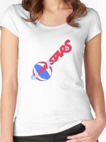 Utah Stars Vintage Women's Fitted Scoop T-Shirt