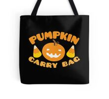 Pumpkin carry bag with candy corn for Halloween Tote Bag