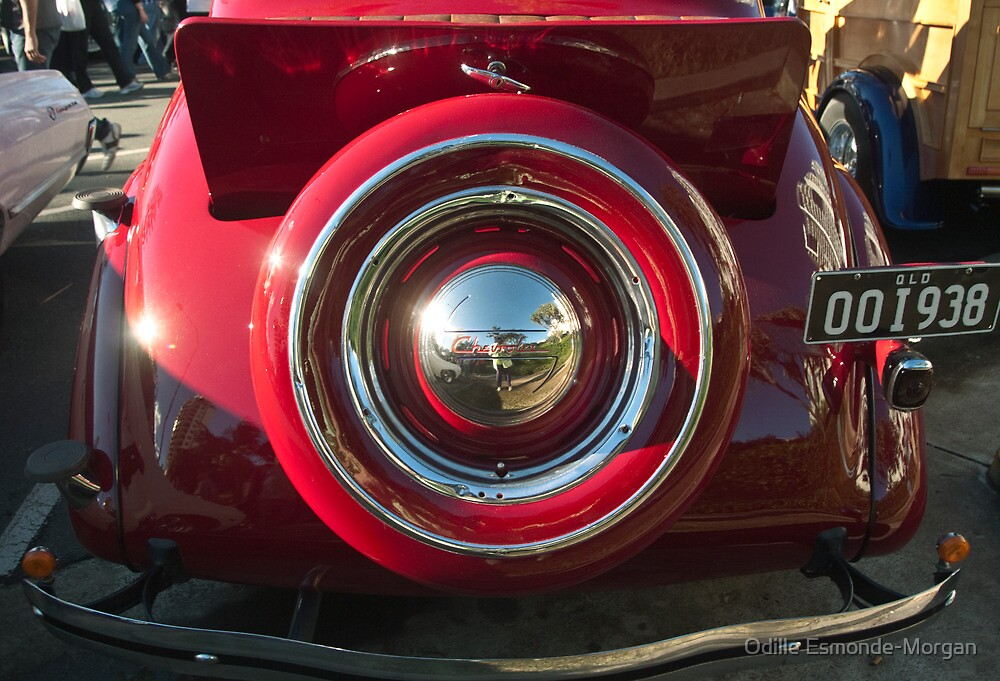 The red Chev #3 (and a photographer self portrait!) by Odille Esmonde-Morgan