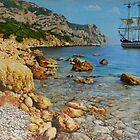 Golden coast by Troitsky