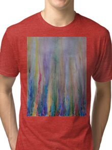 Water venting through Volcanic Minerals Tri-blend T-Shirt