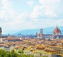 Overlooking Florence by janor