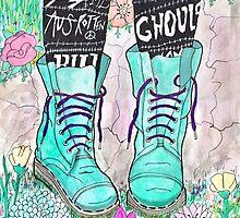 Punk Boots by lunaelizabeth