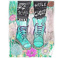 Punk Boots Poster