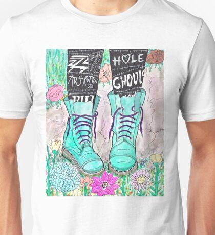 Punk Boots Unisex T-Shirt