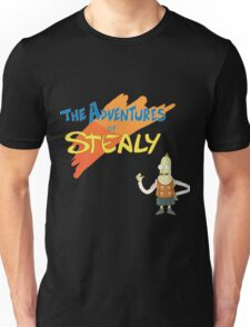Rick and Morty: The Adventures of Stealy w/Stealy Unisex T-Shirt