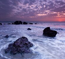 Waves at Siridao Beach (Goa) by Sydney Alvares