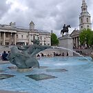 Trafalgar Square London by inglesina