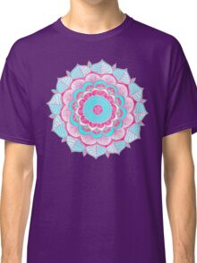 Tropical Doodle Flower Classic T-Shirt