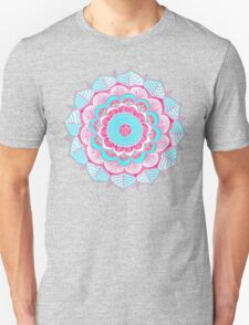 Tropical Doodle Flower T-Shirt