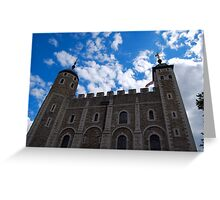 TheTower of London Greeting Card