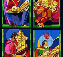 Los Cuatro Evangelistas by Jorge H. Elias