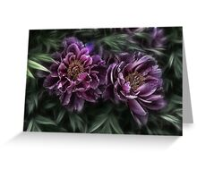 passion of nature Greeting Card