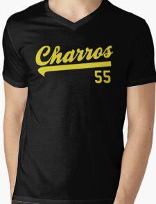 Kenny Powers Charros Team Mens V-Neck T-Shirt