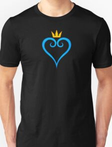 Kingdom Hearts Crown and Heart Emblem T-Shirt