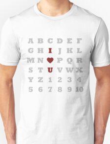 ABC Love - Light T-Shirt